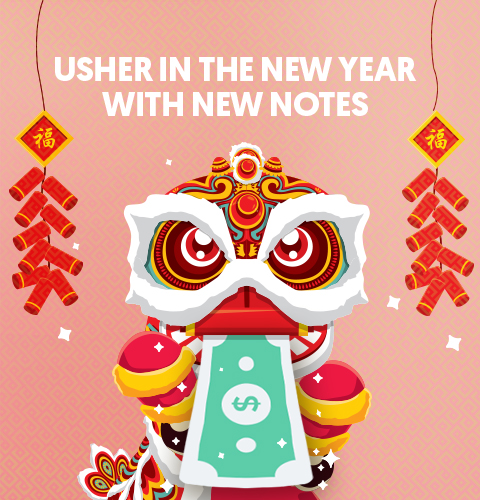 Celebrate Prosperity this Lunar New Year with New Notes