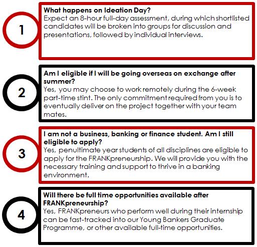 OCBC Careers - Programmes - Undergraduates