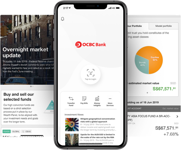 OCBC Mobile Banking App has a new look! - OCBC Singapore
