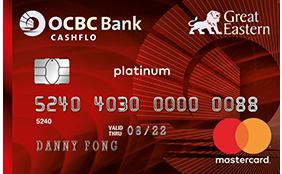 great eastern cashflo mastercard credit card application ocbc