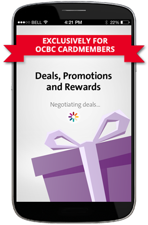 OCBC WowDeals Mobile App