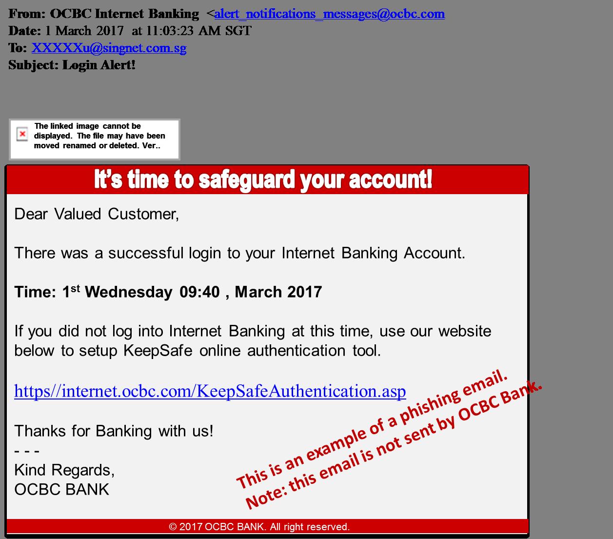 Ocbc Online Banking Security Advisory Ocbc Singapore